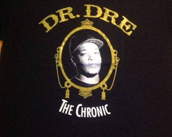 Dr Dre The Chronic New West Side logo Rap West East Coast  Rappers Hip Hop