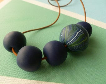 Spherical Polymer Necklace