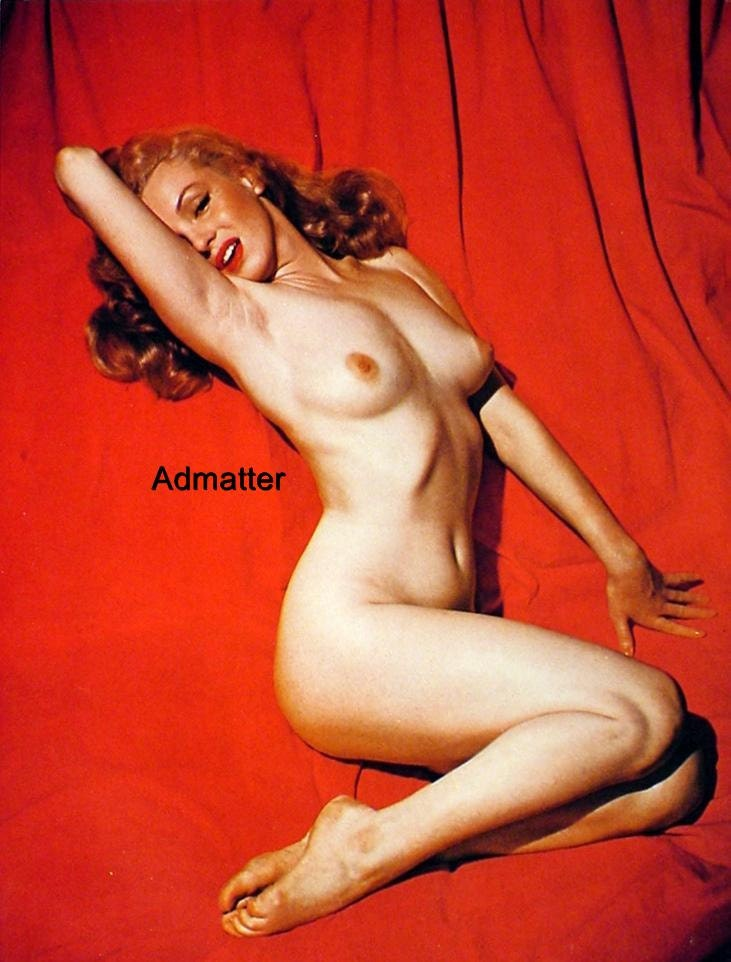 Marilyn Monroe Vintage Nude Pin-up Poster Topless by Admatter: https://www.etsy.com/listing/189585613/marilyn-monroe-vintage-nude...