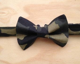 Camouflage bowtie
