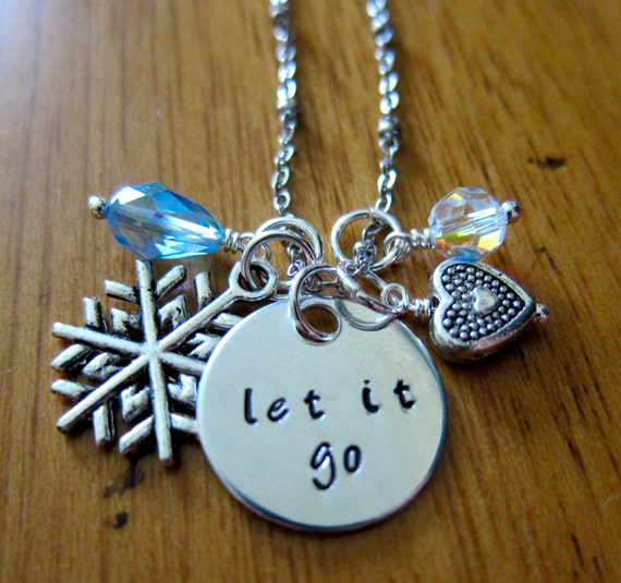 Frozen Inspired Necklace Frozen Inspired Necklace