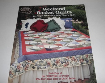 Weekend Basket Quilts  Patterns and Instructions