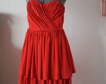 Red Ams Party Dress