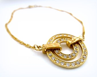 Gold bracelet  ,Gold Fill14K, handmade jewelry, minimalist jewelry , everyday bracelet