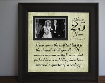 35 Wedding Anniversary Gift Ideas For Parents : anniversary gift for parentsEtsy