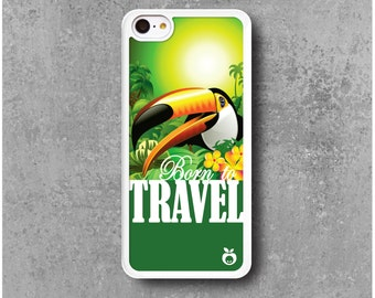 IPhone 5C Case Bird Toucan Travel