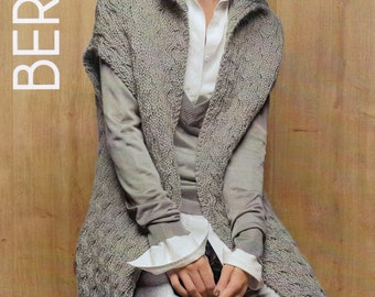Free Knitting Pattern For A Gilet : gilet   Etsy