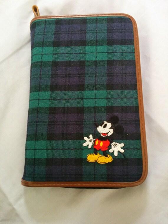 90's mickey mouse agenda/ ipad mini case.