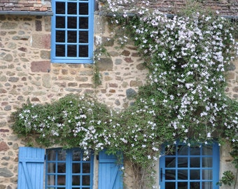 Window Photography - France - Town of St. Generi Le Gerei - Landscape Photography - French Photography -Wall Art -Fine Art Photography