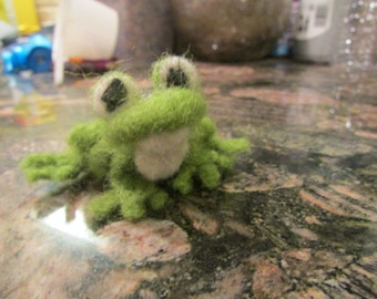 Made to Order Needle Felted Frog