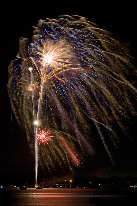 Fourth Wall Art Gallery Lewiston : Fireworks photograph fine art print th of july celebration