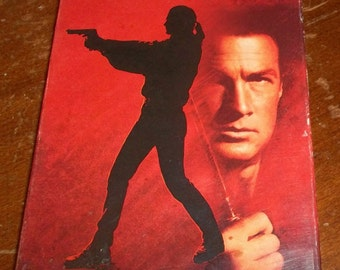 STEVEN SEAGAL is Marked For Death vhs video Karate Judo Martial Arts Arm Breaker with a Pony Tail