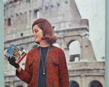Vintage Knitting Patterns Book 1960s Emu Continental Classics womens mens sweaters jumpers cardigans jacket suit dress 60s original patterns