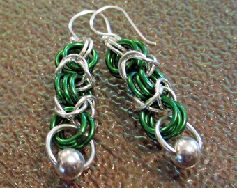 Emerald All The Way Earrings