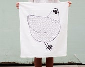 Chicken Tea Towel, Chicken Dish Cloth, Chicken Kitchen Towel, Barnyard Kitchen Cloth, Kitchen Cloth, Barnyard Tea Towel, Barnyard Dishcloth