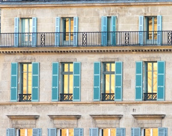 Sunrise in Paris Photography - Dawn Reflected, Paris, Travel Fine Art Photograph, Large Wall Art, French Home Decor