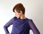 Purple lace vintage dress, XS - S, Japan