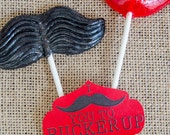 Valentine PRINTABLE Tag 'I Mustache You To Pucker Up' by Love The Day