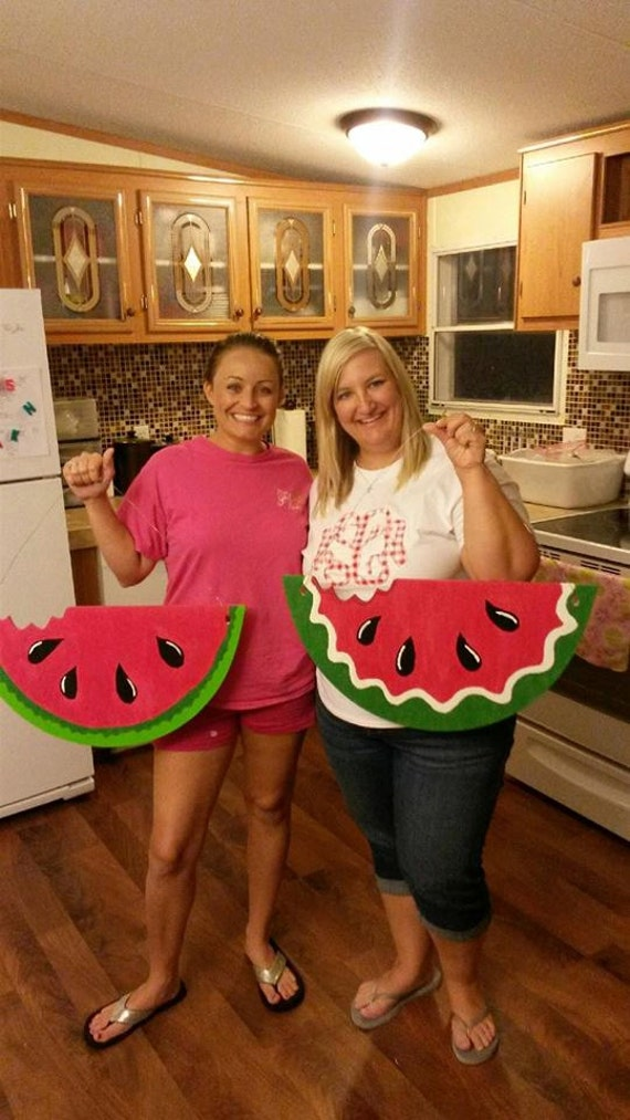 Unfinished Wood Watermelon Slice Diy Summer Decor Home
