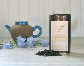 Formosa Oolong Organic Tea • 3 oz. Tin • Fancy Dark Oolong • Luxury Loose Leaf Tea