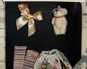 Set Blythe Doll: Short Skirt Dress, Socks, Hair Tie, Small Plush / For Blythe or Pullip