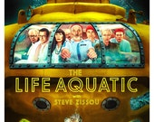 The Life Aquatic with Steve Zissou - Home Theater Decor - 13x19 -  Bill Murray  Wes Anderson - Media Room decor