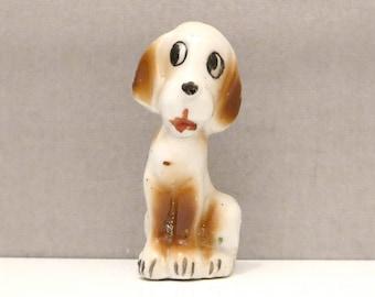 Porcelain Japan Dog Figurine
