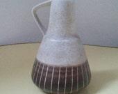 Dümler & Breiden Ceramic Vase - 310/15 - 1950s  in beige/brown