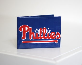 STORE CLOSING!! Philadelphia Phillies Duct Tape Wallet Mens Bifold - TapeWorks