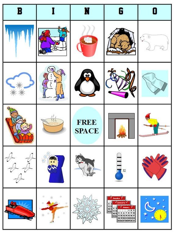 Printable winter bingo 54 bingo cards download this pdf printable winter bingo 54 bingo cards download this pdf file pronofoot35fo Images