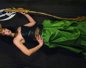 Loki Scepter - Full Scale (5 1/2 Feet Tall) - Made to Order