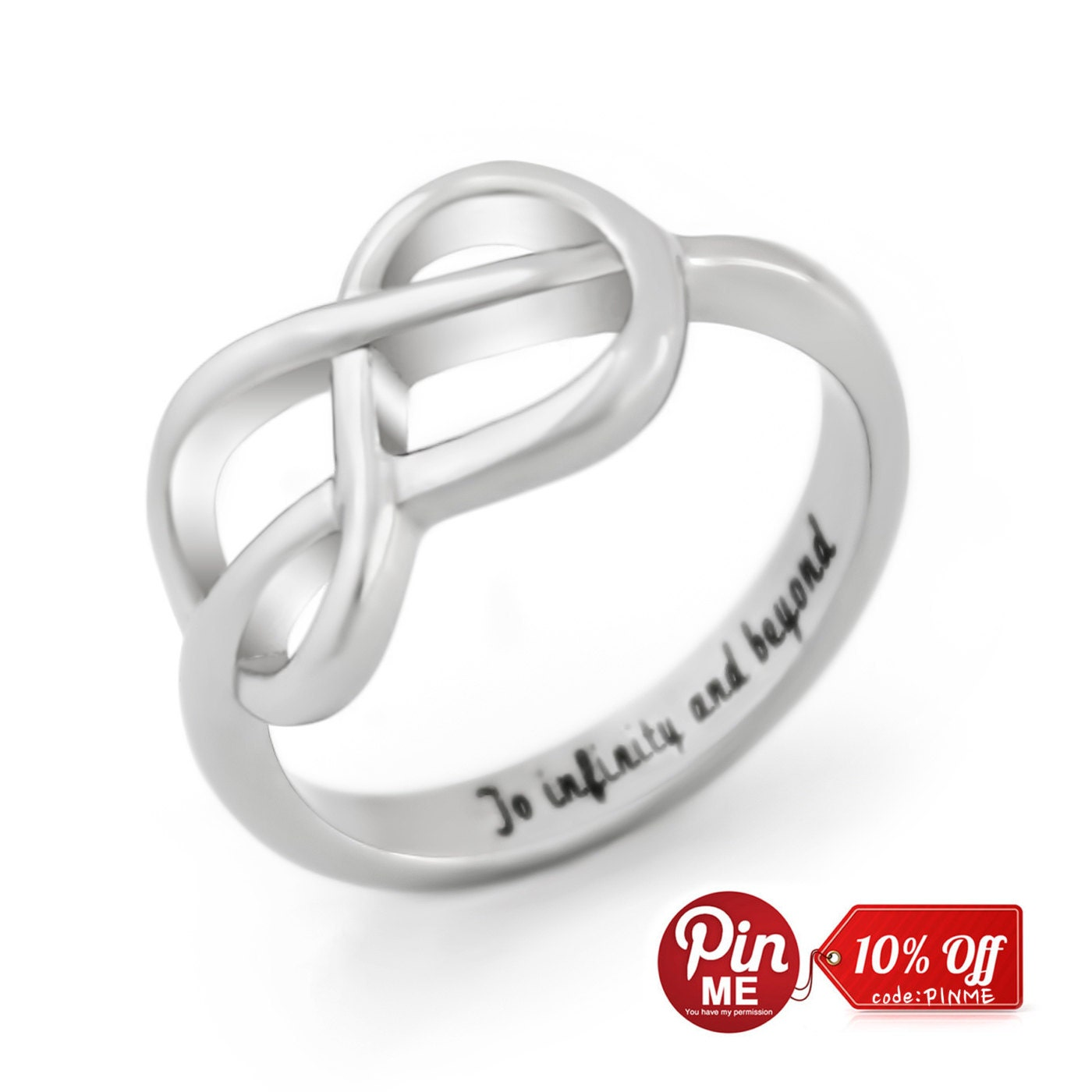 infinity ring promise ring infinity symbol ring to by tzaro