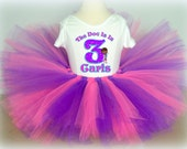 Doc McStuffins Birthday Tutu Outfit - Purple Shimmer