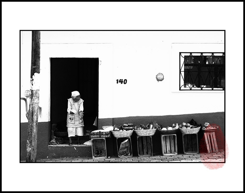 Street Wall Art Black And White : Classic mexico wall decor black and white mexican street