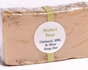 ON SALE - Oatmeal, Milk, & Shea Soap - Moisturizing and Cleansing