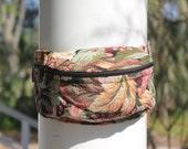 Floral Tapestry Fanny Pack, VIntage Floral Bag, Hip Bag, Floral Waist Pouch