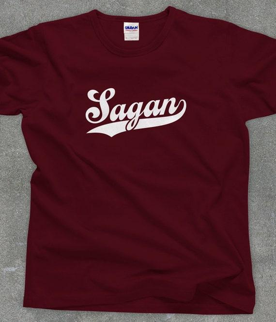 Carl Sagan fan unisex men's women's tshirt tee - You Choose Color