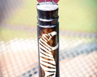 Zebra Bottle Opener from Kenya - FAIR TRADE