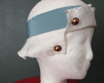 flapper 20's style hat cloche