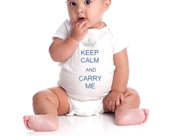 Baby onesie KEEP CALM