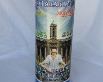 Clarity Candle (Brujeria, Paleria, Santeria, Voodoo, Hoodoo, Magic, Wicca, Witch, Witchcraft)