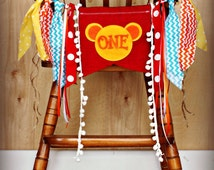 Little Tiger Birthday Party Banner...Photo Prop...Age Banner...High Chair Banner..Daniel tiger