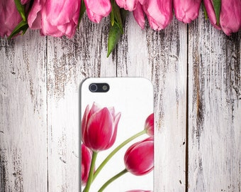 Tulips Case for iPhone 6 6 Plus iPhone 7  Samsung Galaxy s8 edge s6 and Note 5  S8 Plus Phone Case, Google Pixel