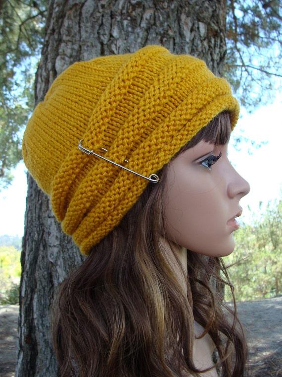 PATTERN 4: Womens Beehive Knit hat pattern Fun and Sassy