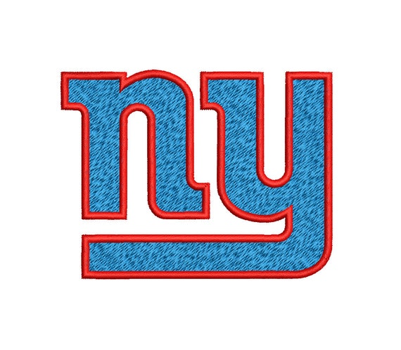 New york giants machine embroidery design by