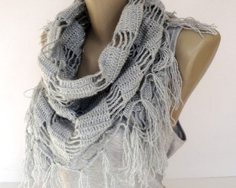 Valentines Day Gifts Crochet Scarf women scarf shawl  women scarves ,crocheted shawl scarf Holiday Fashion Winter Scarf Women Fashions