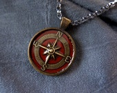 Compass Necklace - Compas...