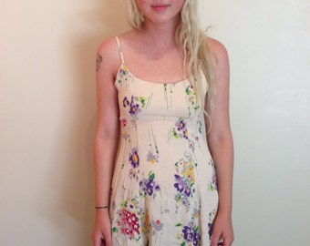 90s betsey Johnson dress in floral