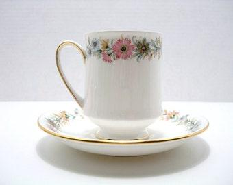 Vintage Tea Cup & Saucer - Paragon Fine Bone China - Made in England - Belinda Pattern