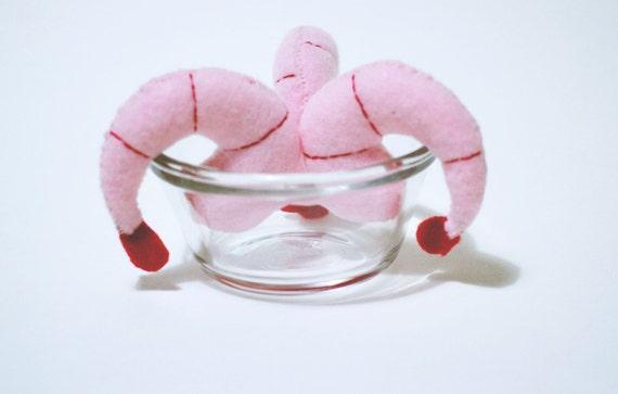 Jumbo Shrimp Catnip Cat Toy